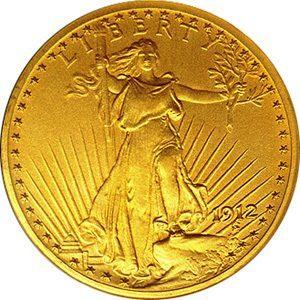 libertà oro moneta