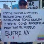VENEZUELA, MANIFESTAZIONE IN PIAZZA PER SPIEGARE I CRIMINI DEL REGIME