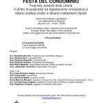 BOLOGNA, FESTA DEL CONDOMINIO CON HOPPE, SALIN E PIOMBINI