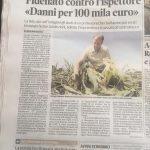 FIDENATO: CHI SBAGLIA PAGHI! E CHIEDE 100.000 EURO AL CAPO DELLA FORESTALE