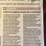 """NUOVA SEMINA OGM, FIDENATO: """"STAVOLTA, CONFIDO NEL BUON SENSO DELLA MAGISTRATURA"""""""